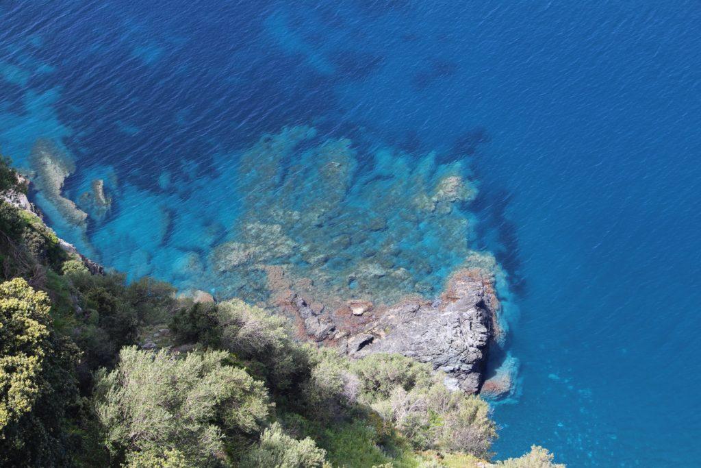 Corse - Vue sur la mer