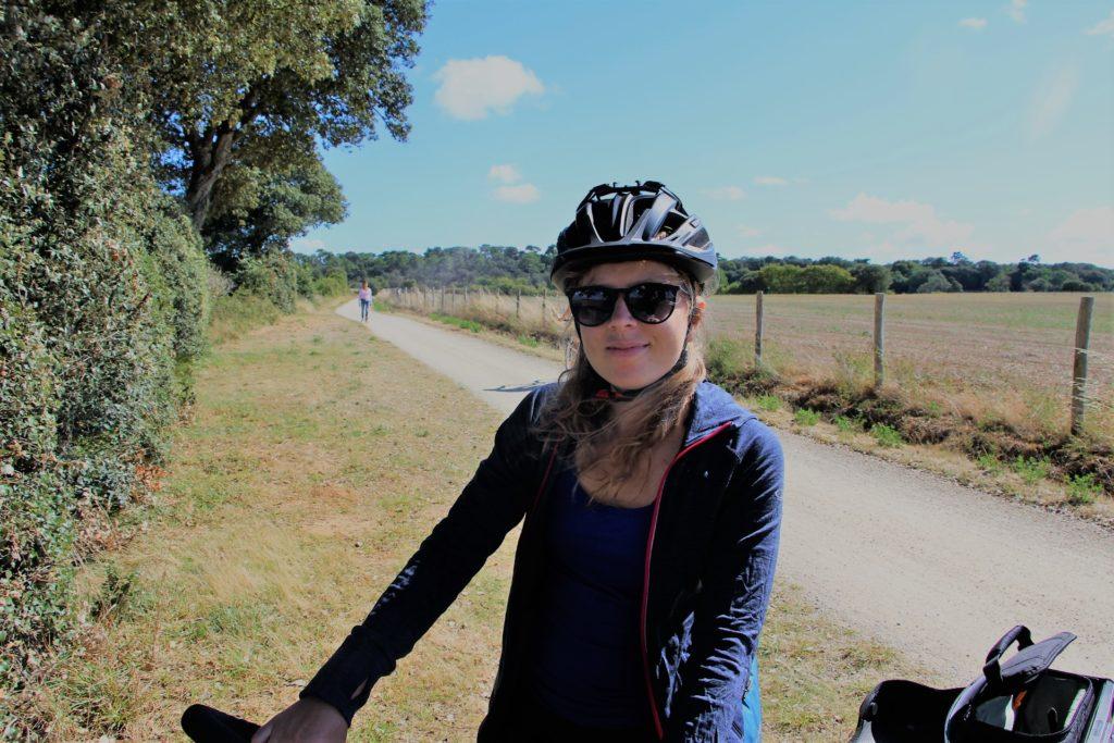 Vélodyssée - Pauline