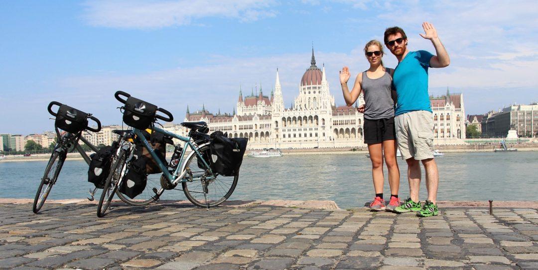 Après 1570 km depuis Bâle, en Suisse, nous arrivons à Budapest, en Hongrie !