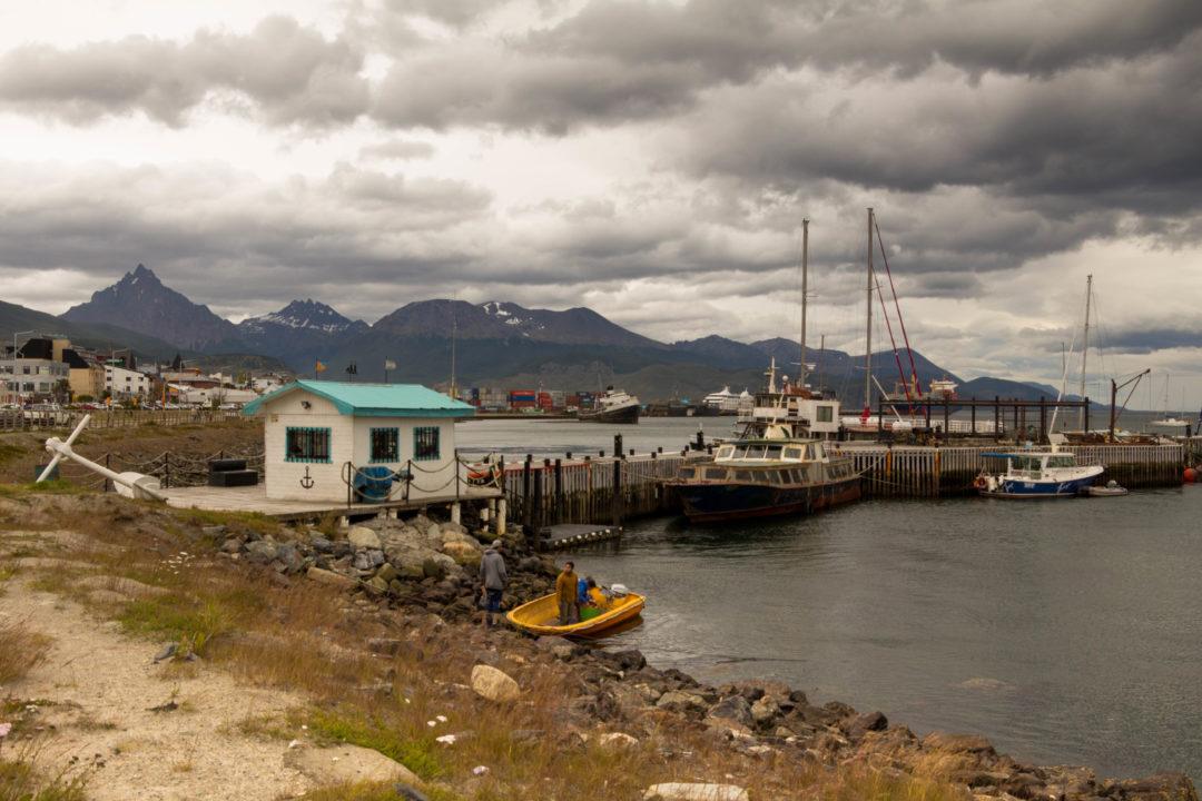 Le port d'Ushuaïa