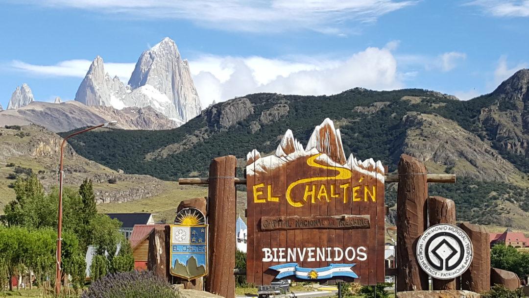 Vue du mont Fitz Roy, à El Chalten