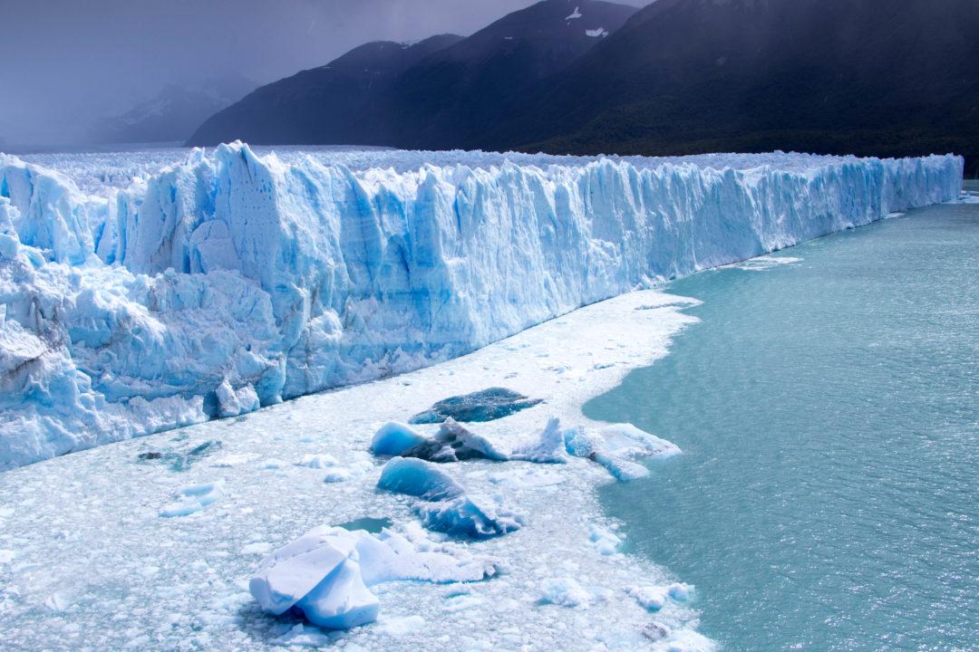 Le très impressionnant glacier Perito Moreno, à 80 km de El Calafate, Argentine
