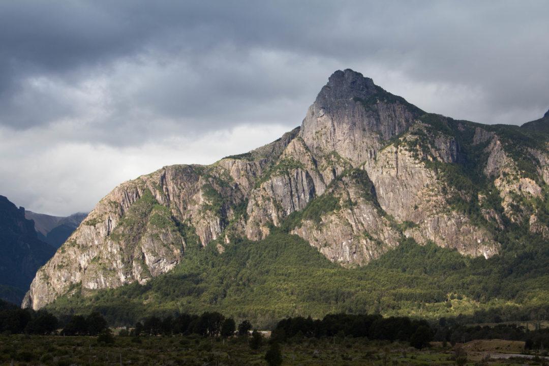 Paysage de montagnes, Carretera Austral