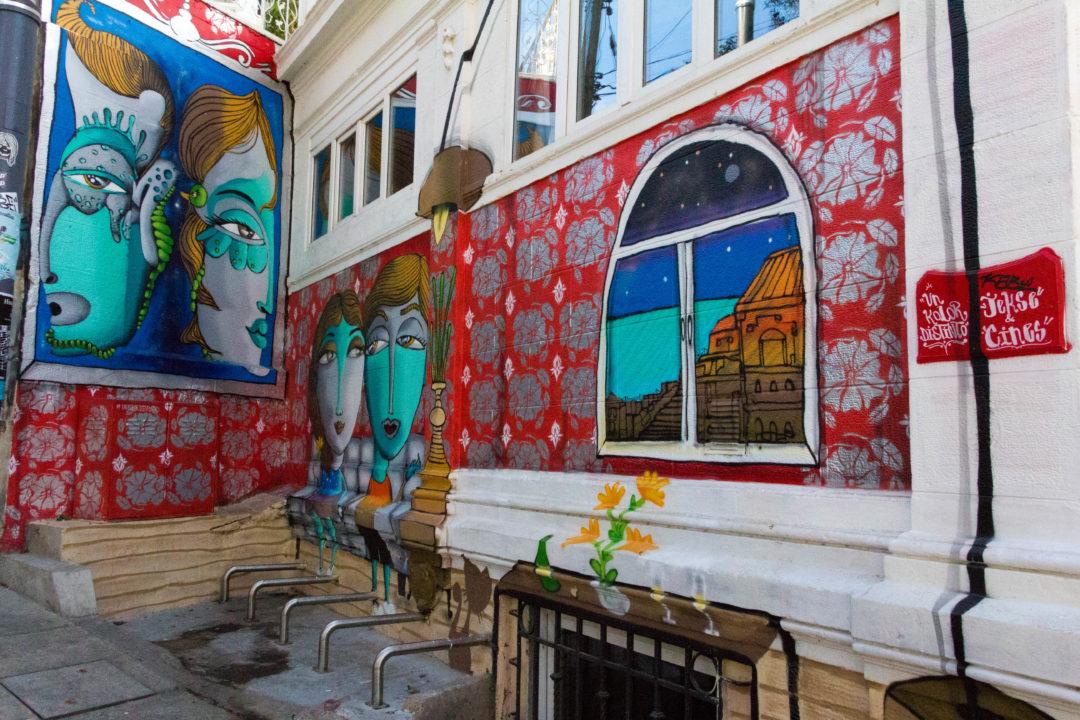 Mural de Un Kolor Distinto, à Valparaiso