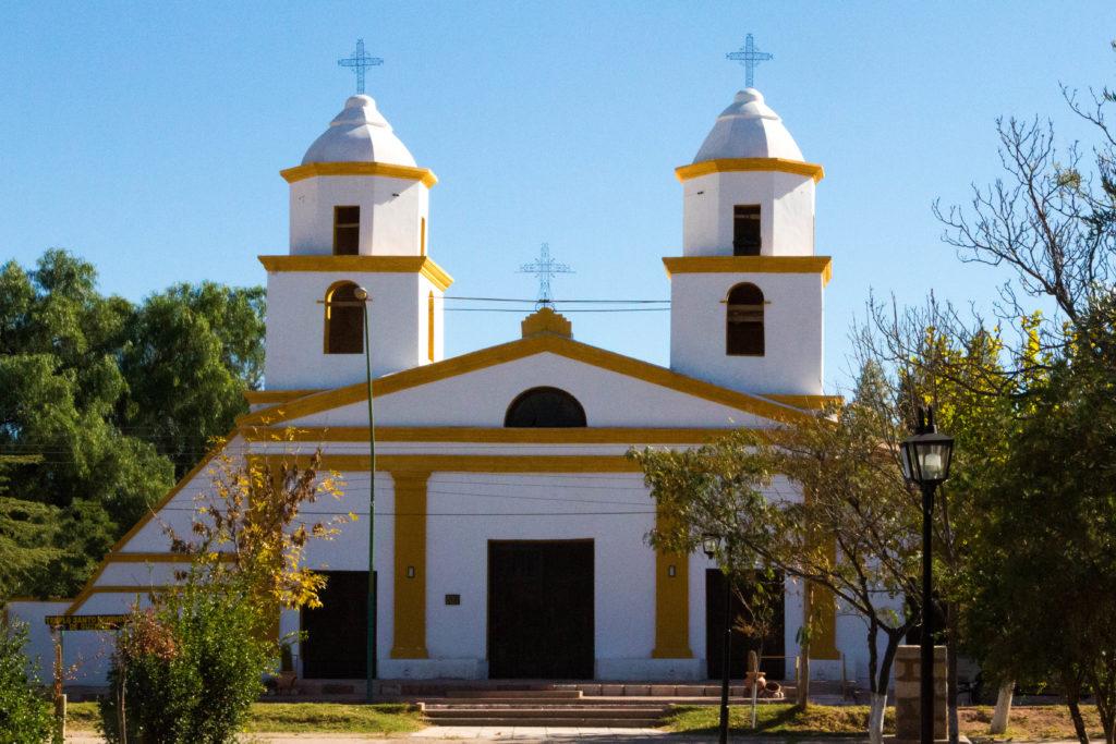Eglise du village de Pituil, sur la RN40, province de La Rioja