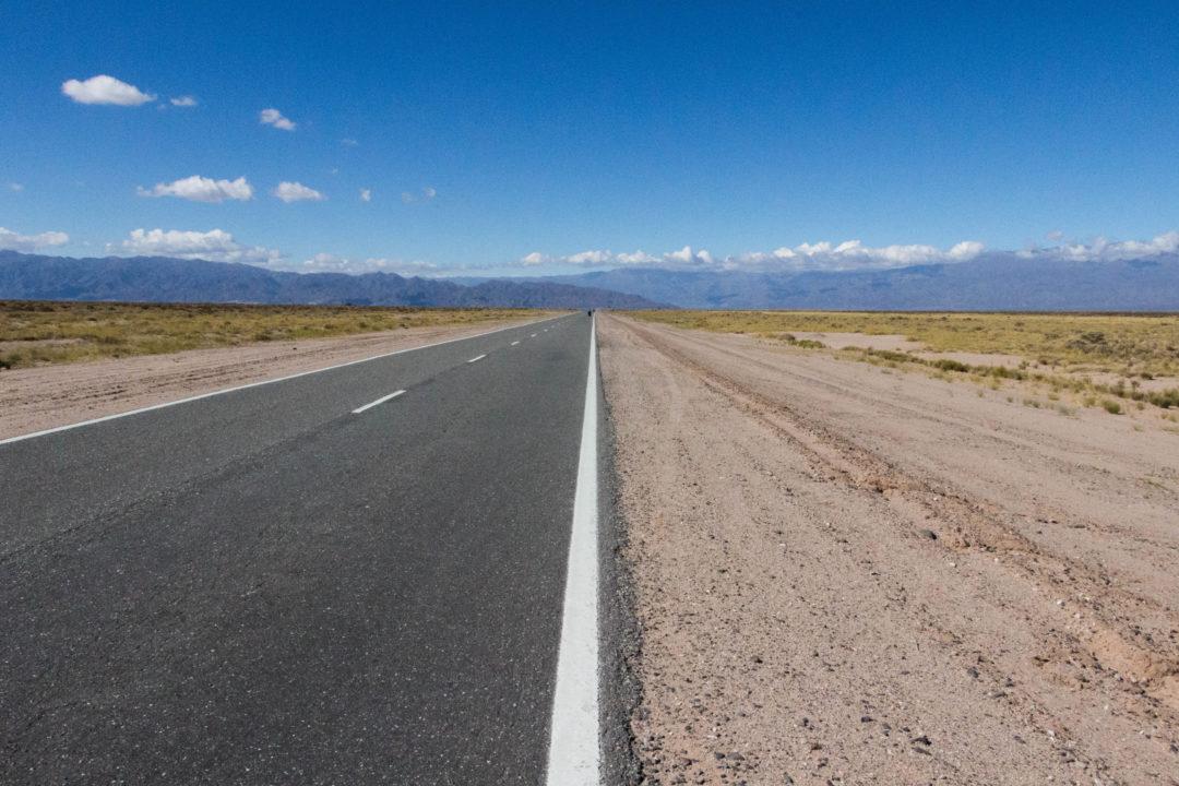 Paysage de la Ruta 40, dans la province de Catamarca