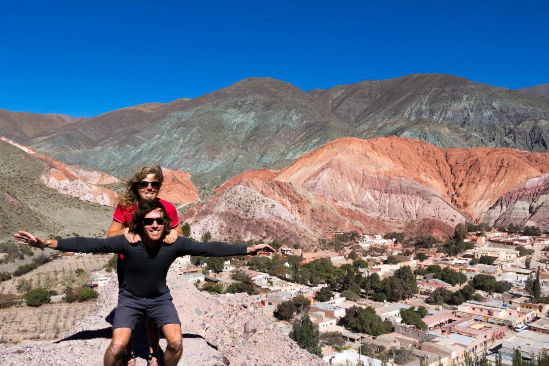 La montagne aux 7 couleurs, à Purmamarca, Argentine