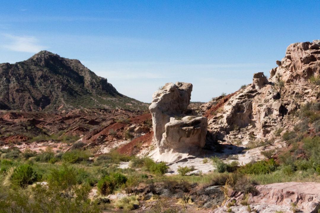 Paysage de la zone protégée de la Cienéga (près de San José de Jachal, province de San Juan)