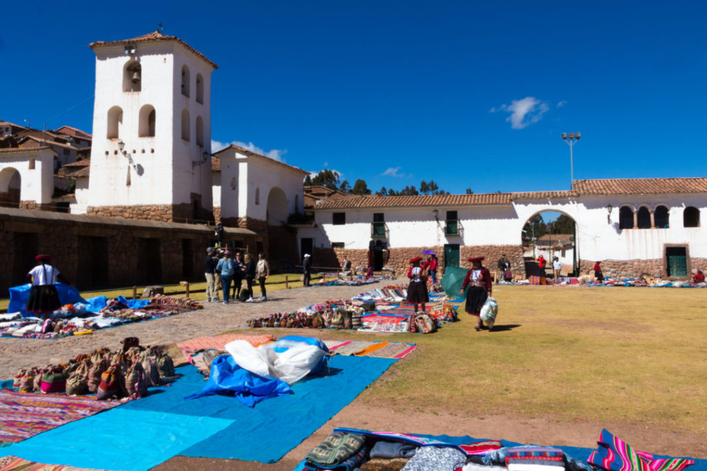 La place du village de Chinchero