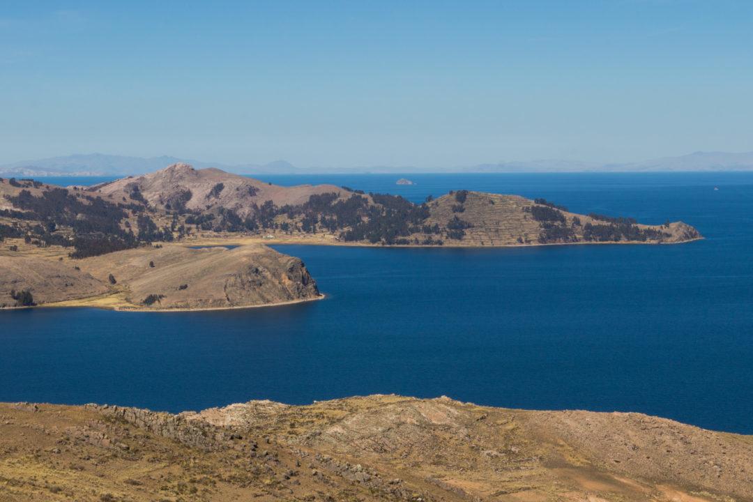 Lac Titicaca - Vue depuis la rive nord