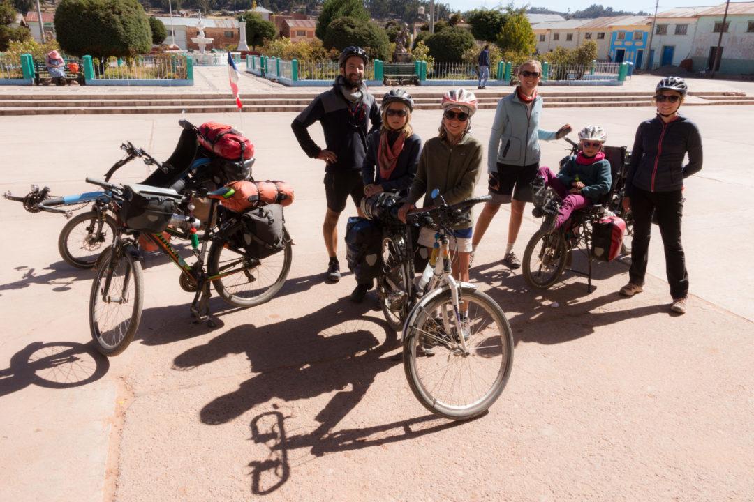 Les Cham à vélo