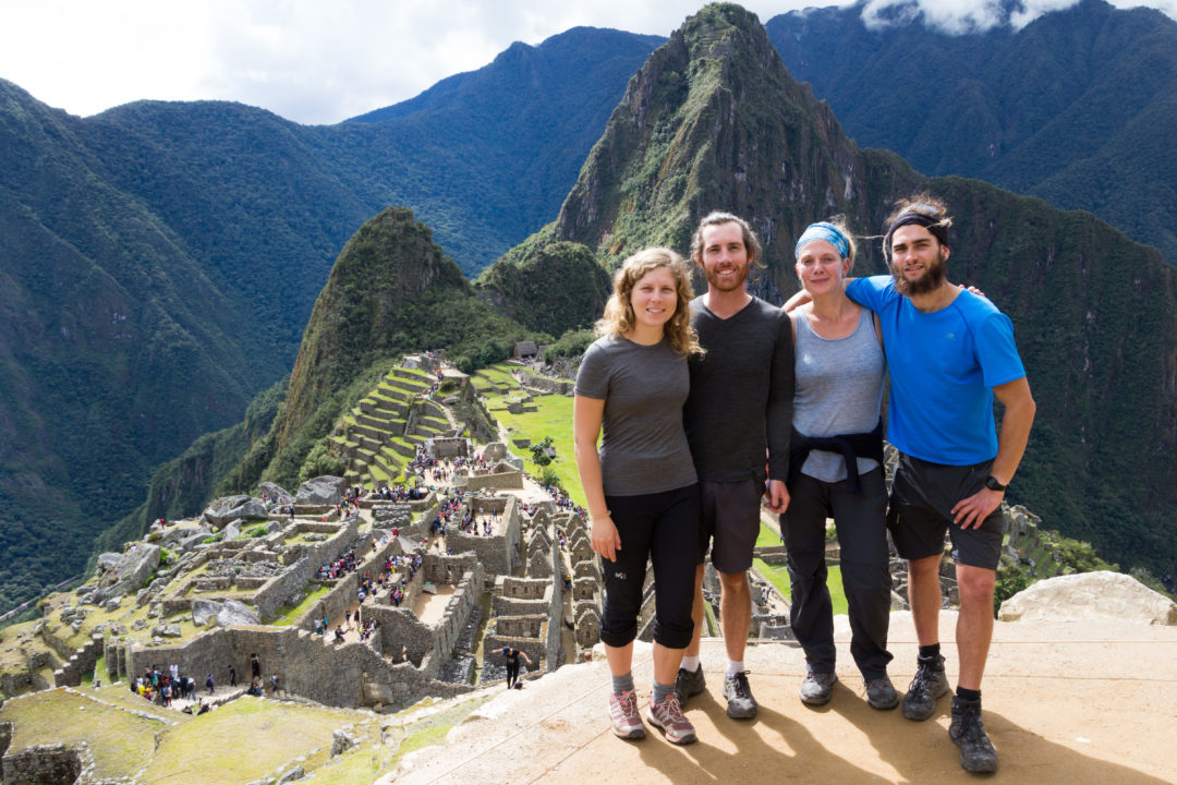 Machu Picchu - Hugo, Alix, Simon et Pauline