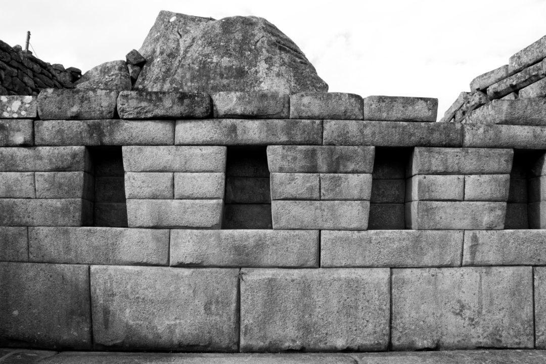 Un beau mur inca, au Machu Picchu
