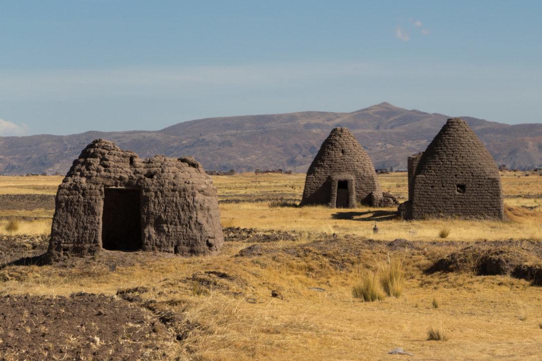 Péninsule de Capachica - Maisons en adobe