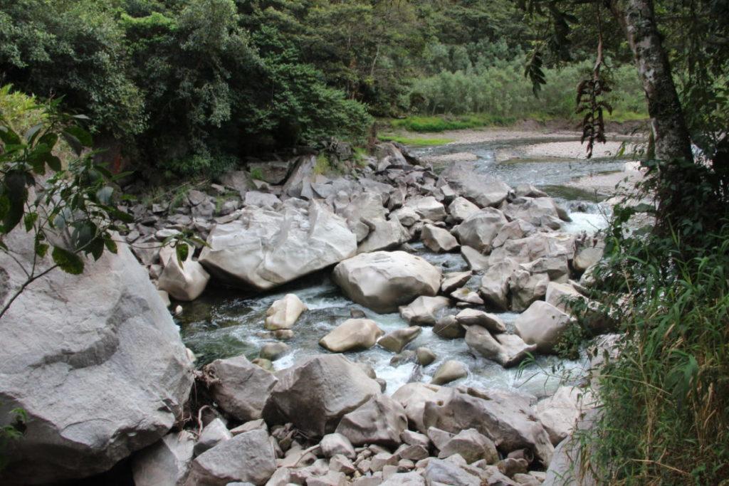 La rivière avant Aguas Calientes