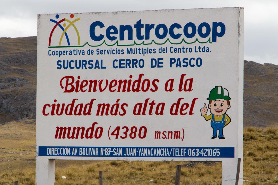 Cerro de Pasco - Ville la plus haute du monde
