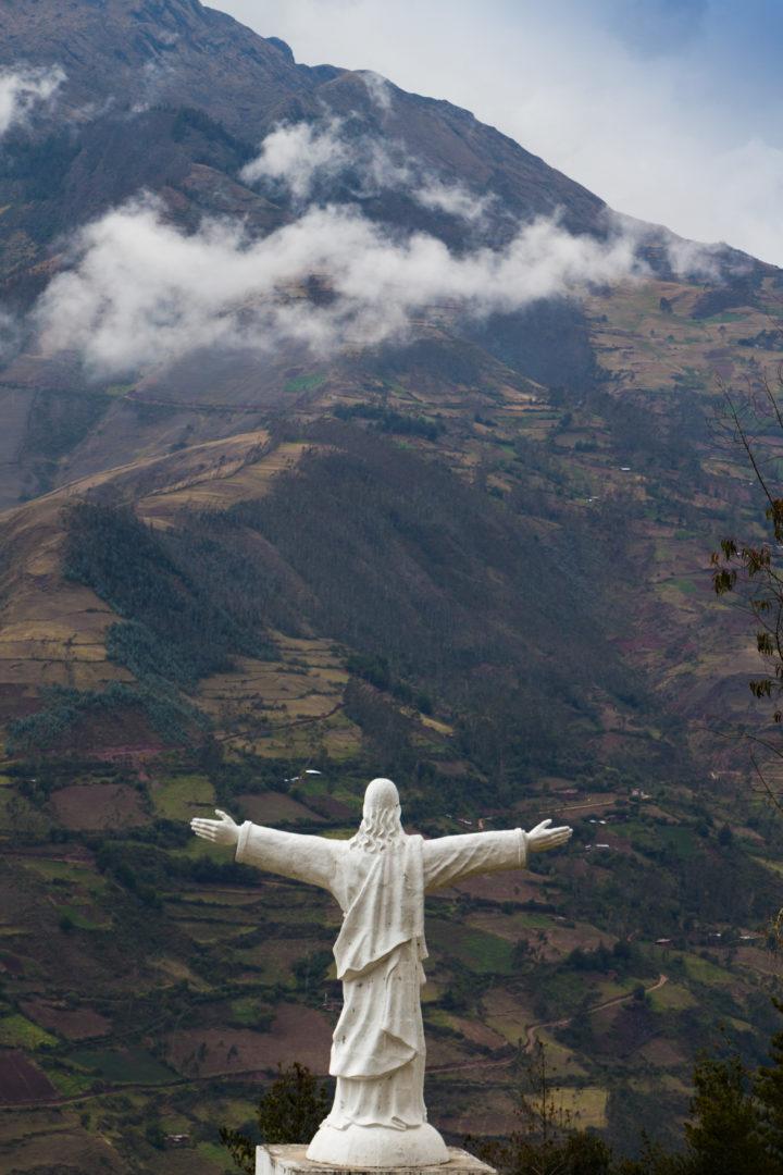 Entre Cusco et Abancay - Cristo dans la montagne
