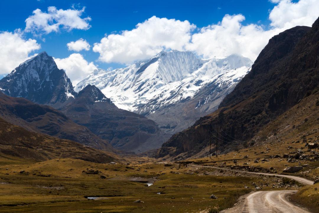 Cordillera Huayhuash - Arrivée à la route du col