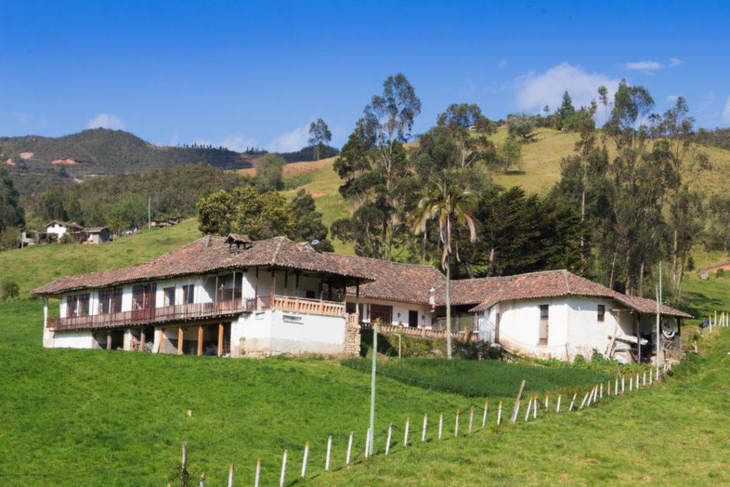 Entre Loja et Cuenca - Belle ferme