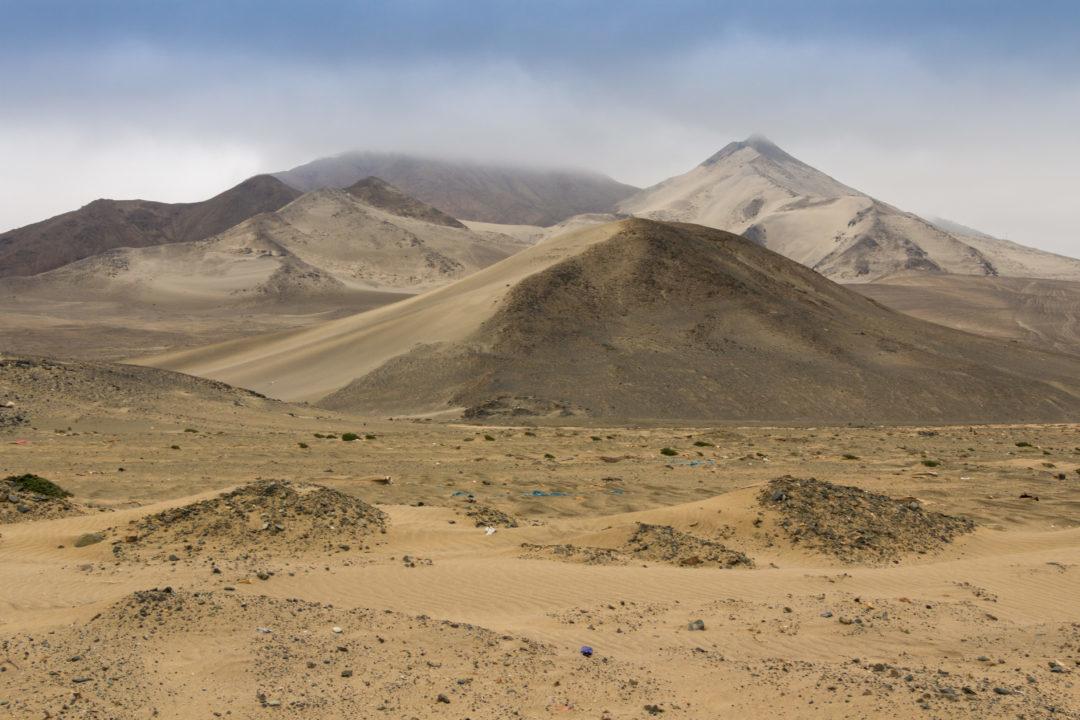 Panaméricaine nord - Dunes de sables