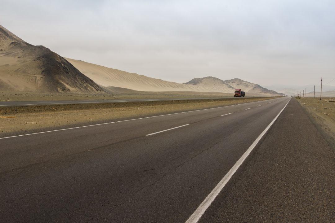 Panaméricaine nord - Vue de la route