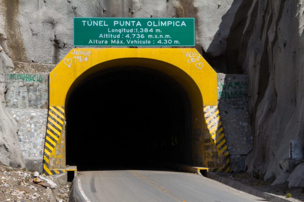 Parc Huascaran - Tunnel Punta Olimpica