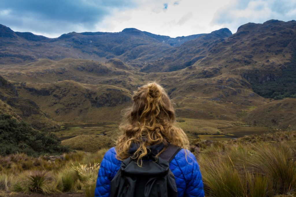 Parc National Las Cajas - Pauline