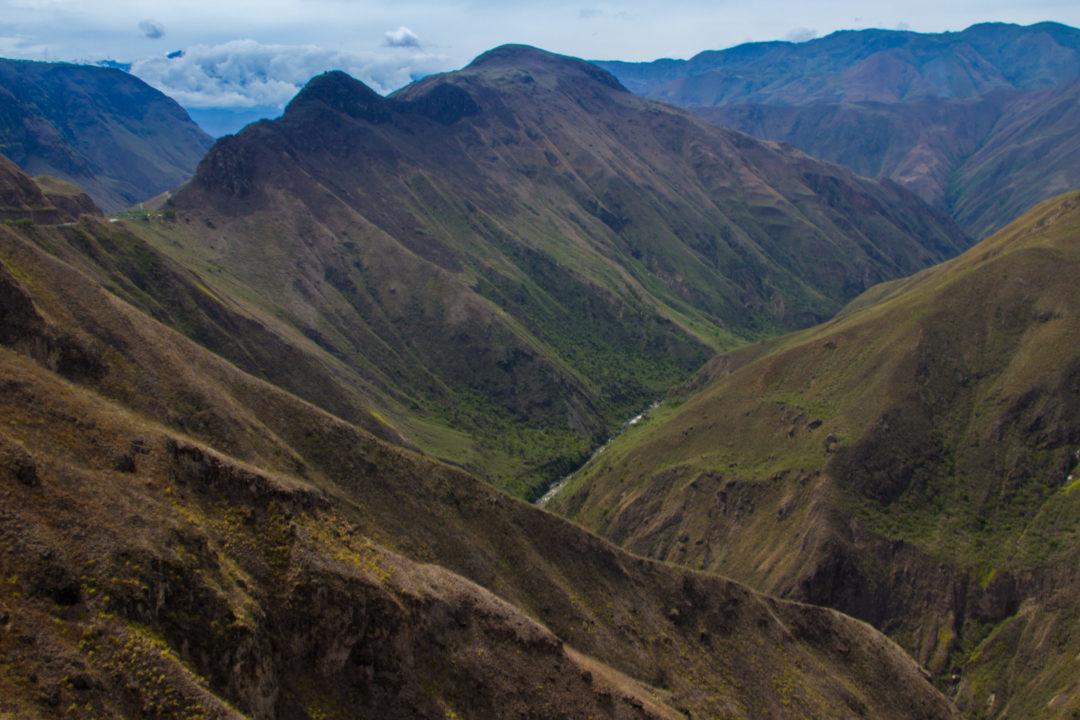 Entre Pasto et Popayan - Paysage de montagne