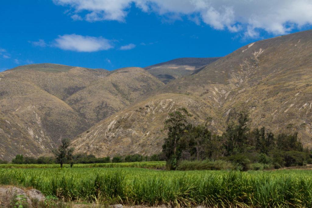 Entre Quito et Ipiales - Paysage