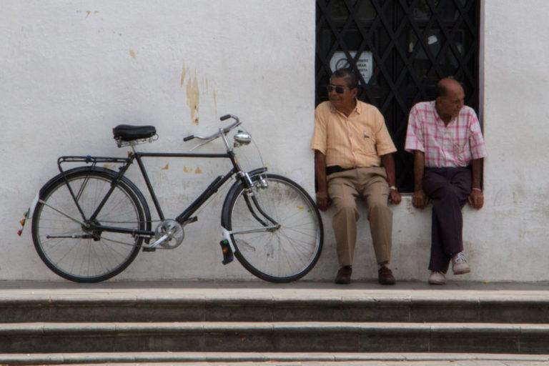Popayan - Le repos des cyclistes