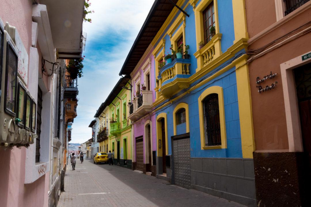 Quito - Rue colorée