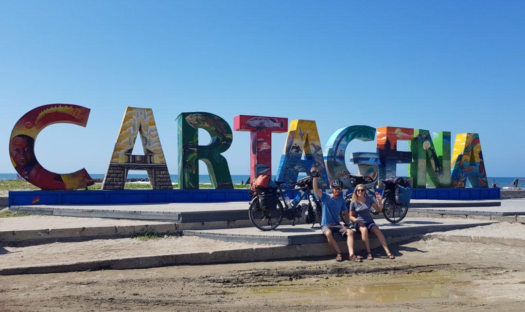 Carthagène - Arrivée sur la plage