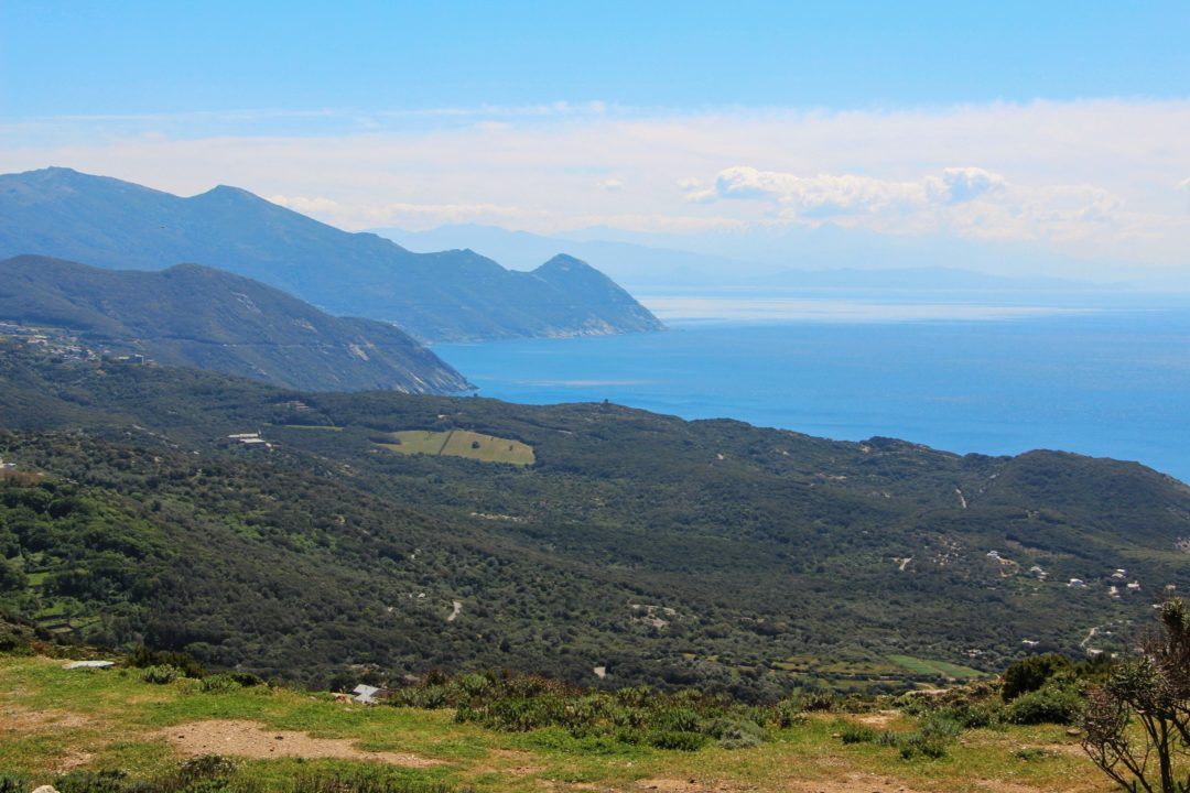 Corse - Panorama du Cap Corse