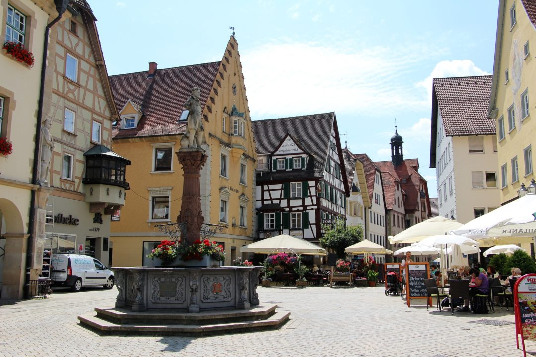 Le village de Stein am Rhein, en Suisse