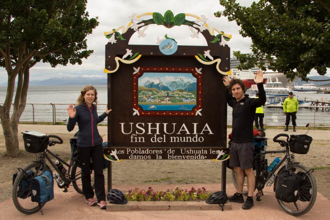 Ushuaïa, fin du monde, début de notre aventure !