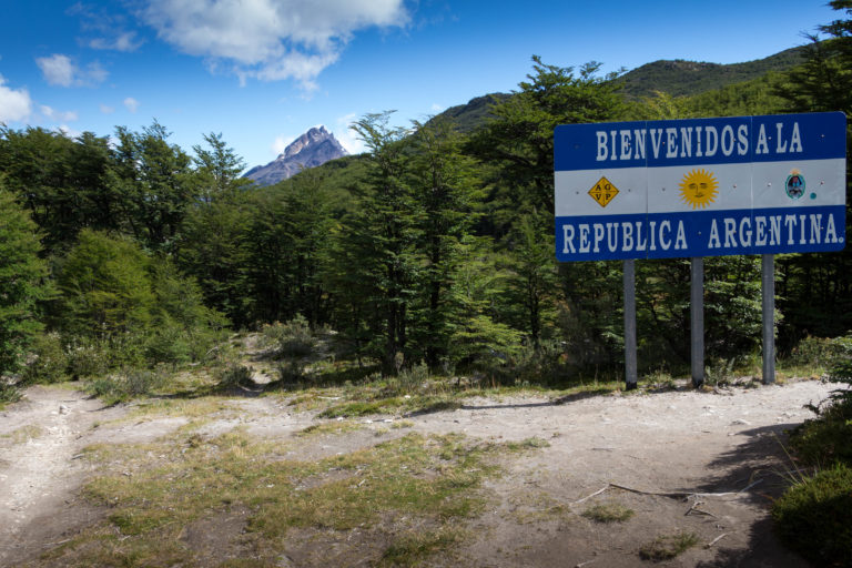 On a réussi le passage de frontière ! On quitte l'Argentine !