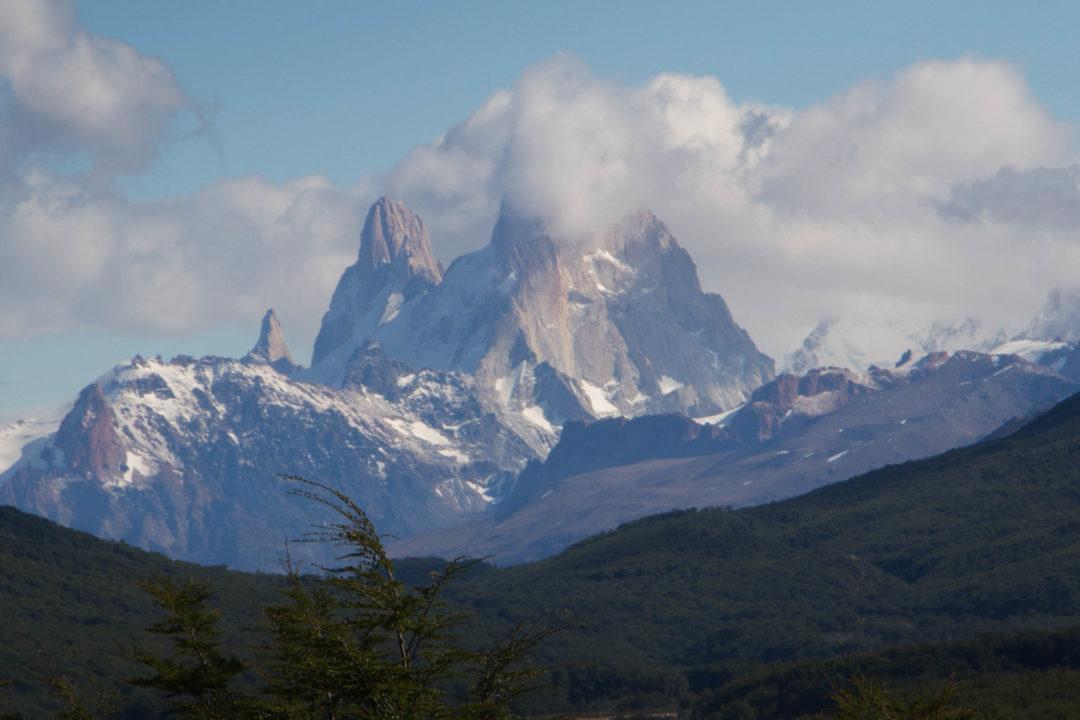 Le mont Fitz Roy, à El Chalten, Patagonie argentine