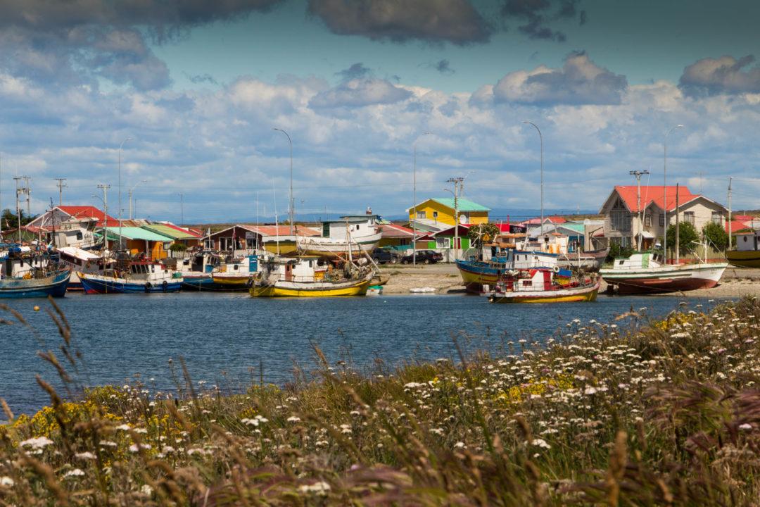 Les maisons de pêcheurs, Porvenir, Chili
