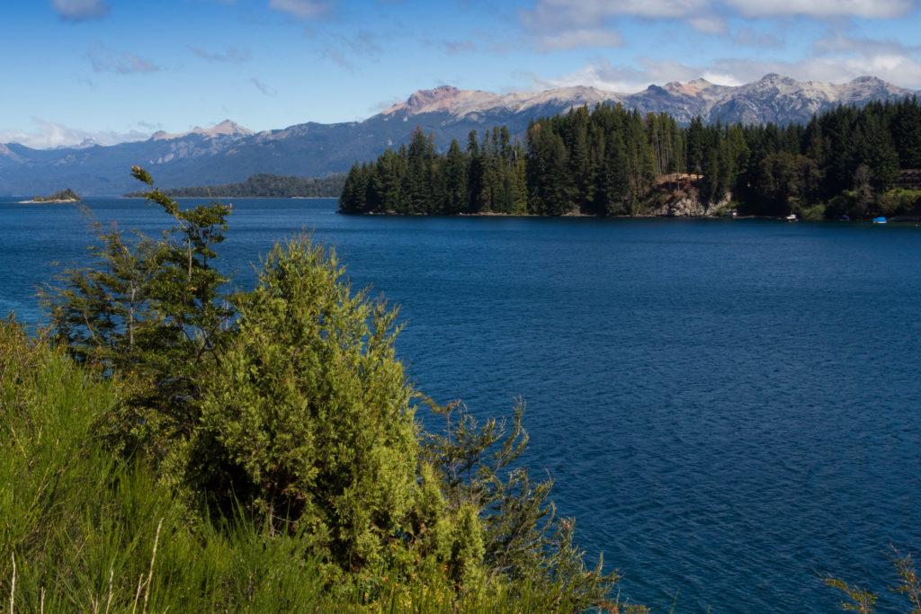 Le lac Nahual Huapi, proche de Bariloche, Argentine