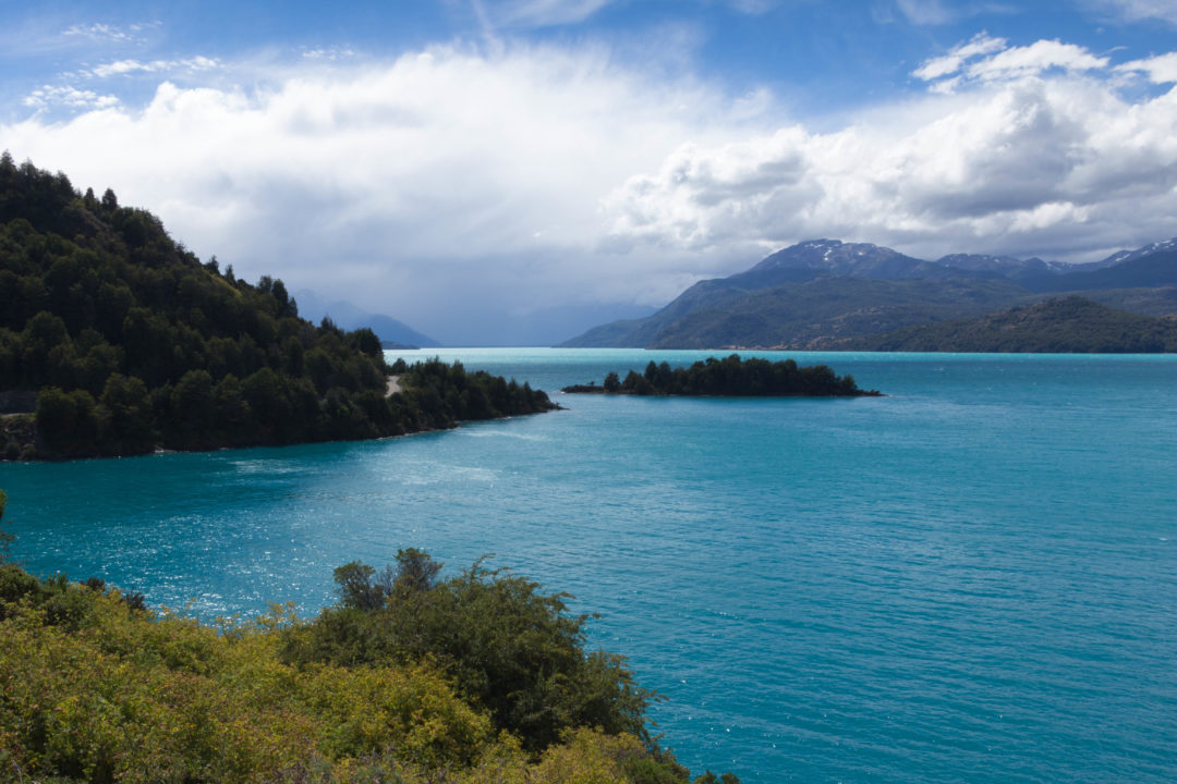 Le Lago General Carrera, sur la Carretera Austral