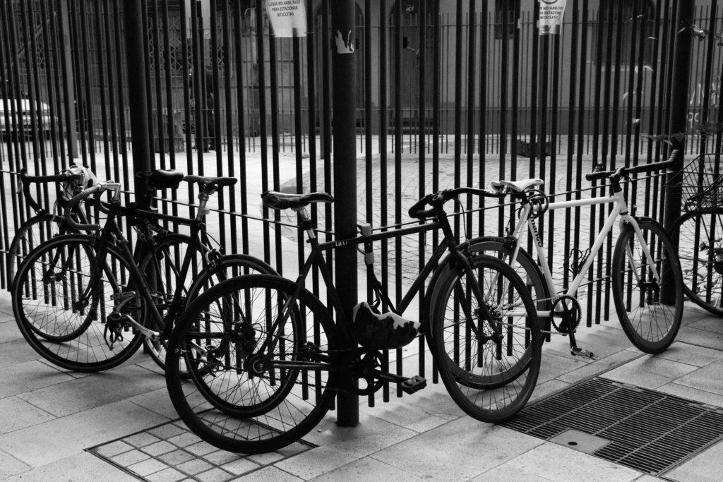 Santiago est la ville la plus cyclable que nous croisons depuis le début de notre voyage, des pistes cyclables partout !