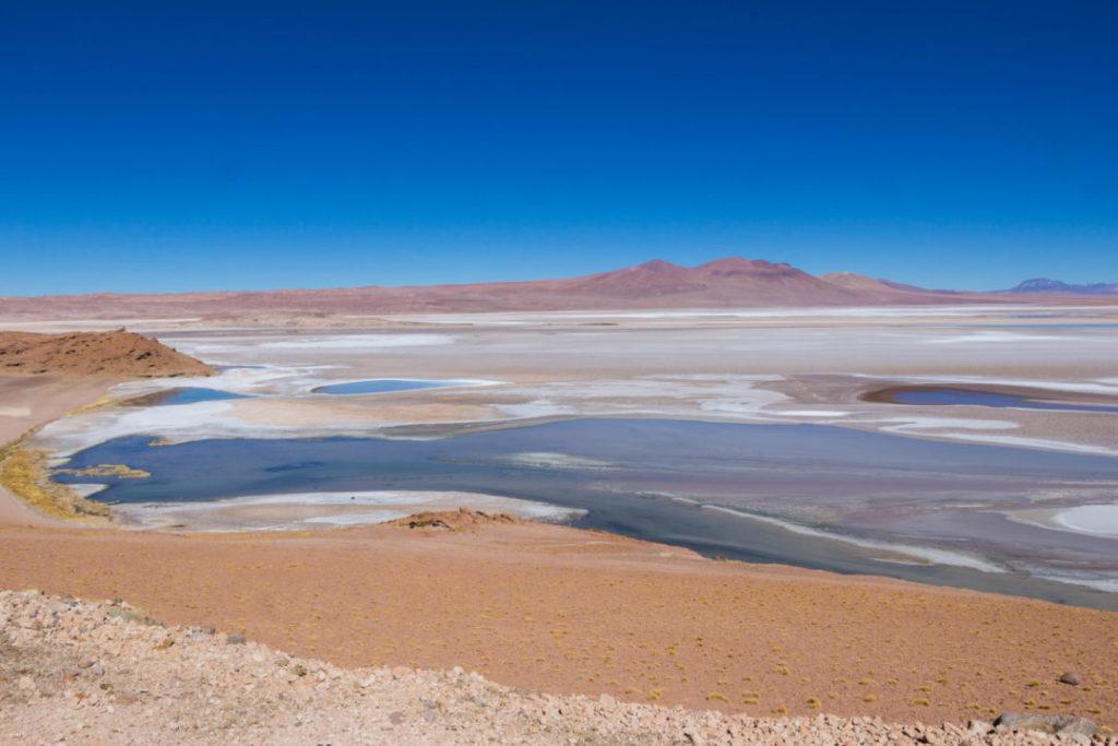 aysage du désert d'Atacama, après la frontière du Paso de Jama