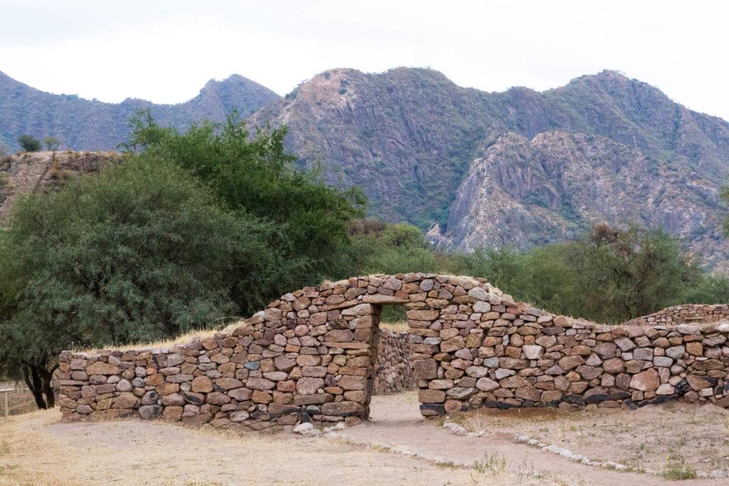 Les ruines incas d'El Shincal, près de Londres
