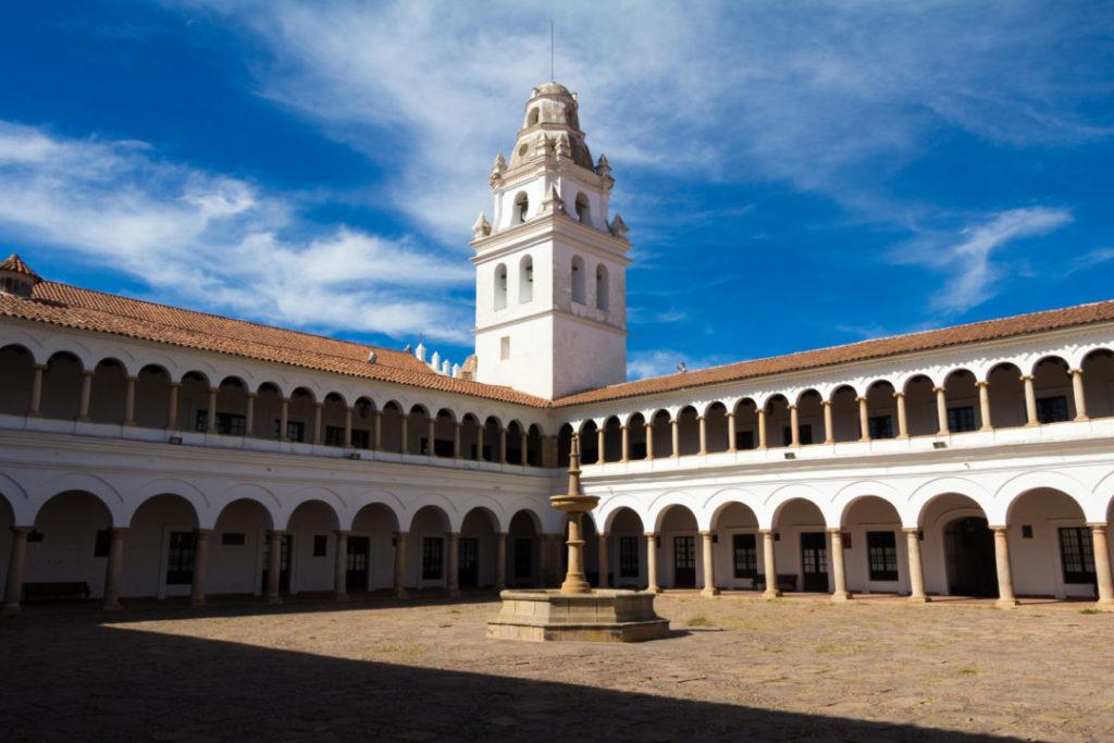La Casa de la Libertad, à Sucre, où a été signé la déclaration d'indépendance en 1825