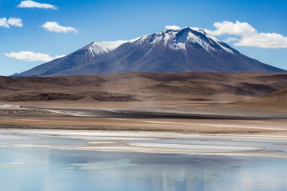 La laguna Honda, dans le Sud-Lipez, Bolivie