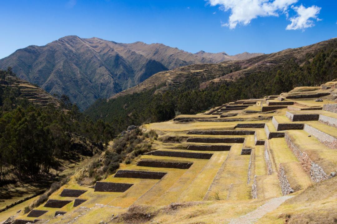 Les terrasses incas du village de Chinchero