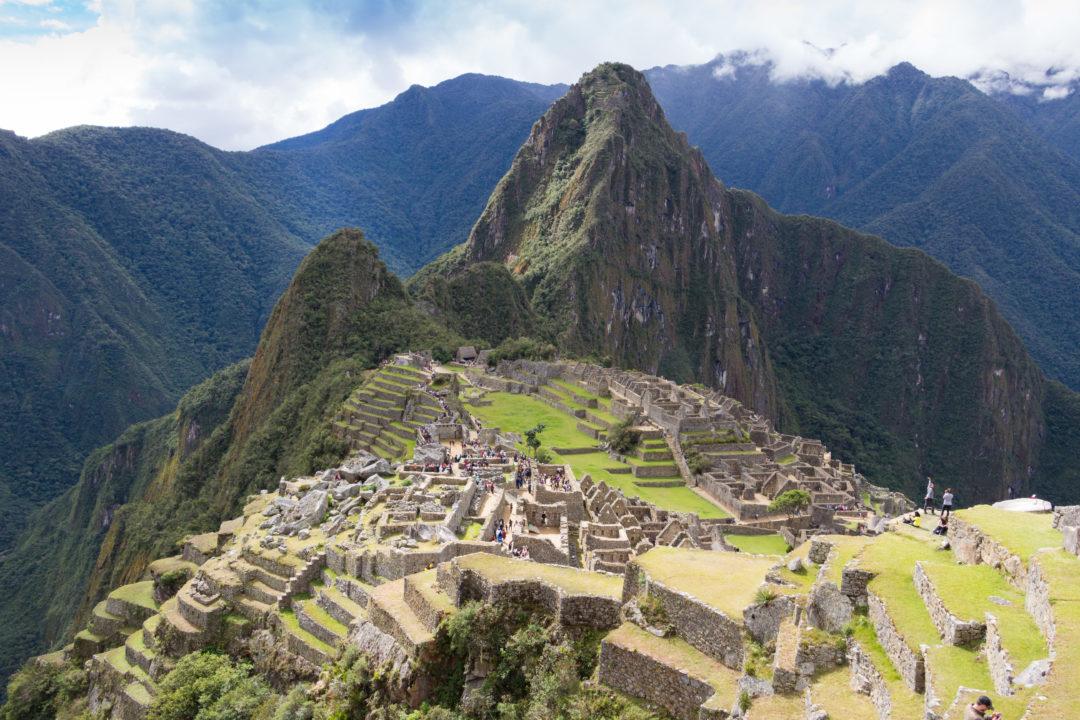 Machu Picchu - Vue d'ensemble