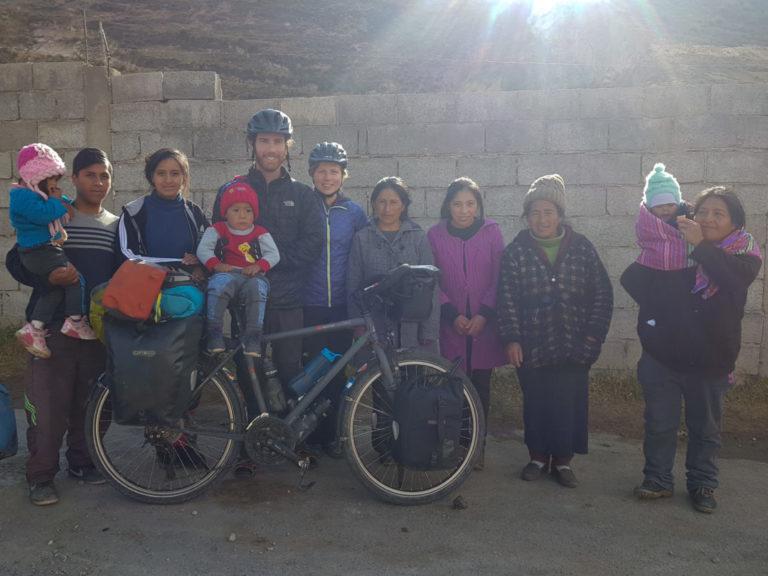 Avec la famille au village de Chapopampa