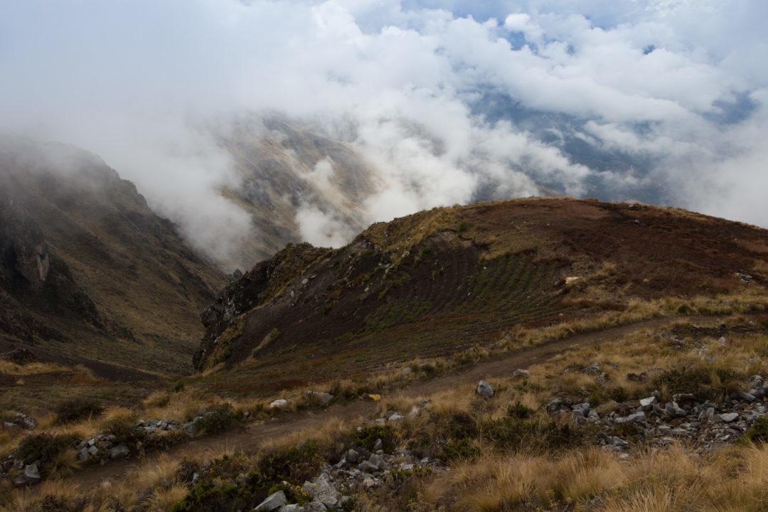 Entre Cusco et Andahuaylas - Col dans les nuages