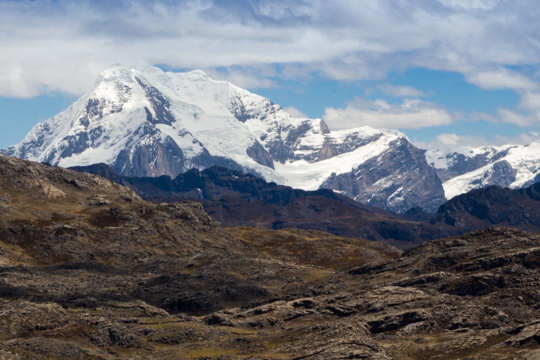 Cordillera Huayhuash - Sommets enneigés